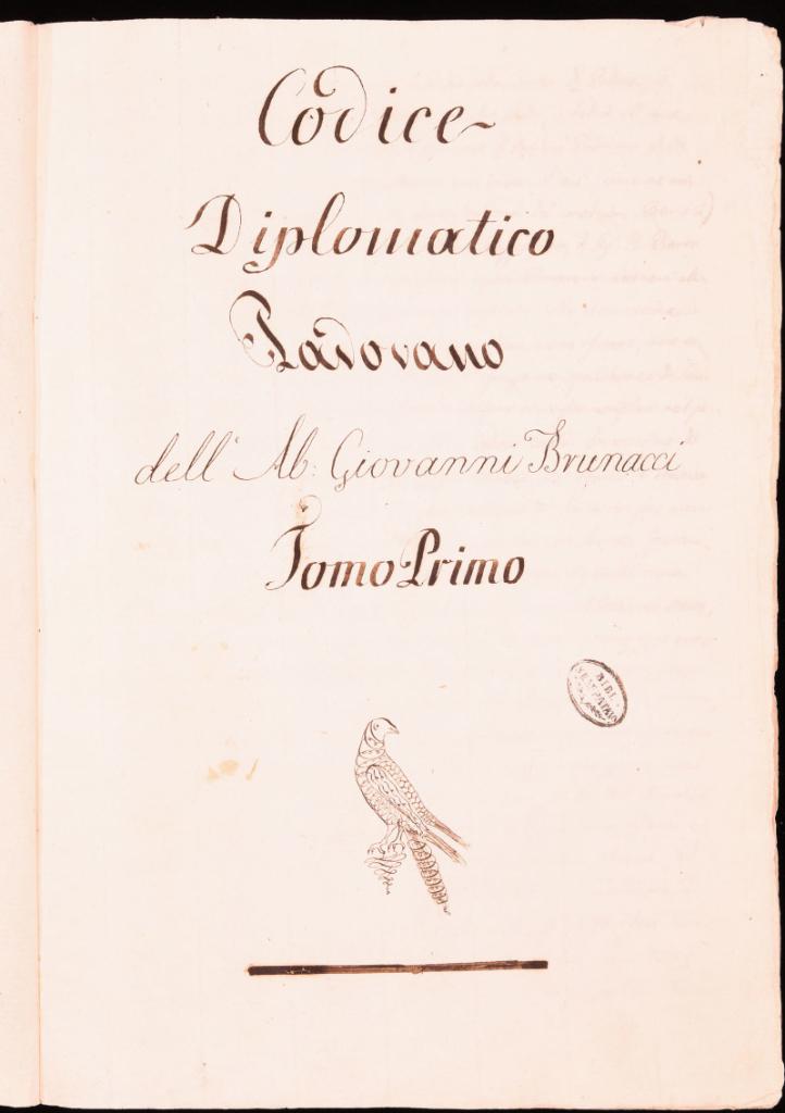 Frontespizio 581.1