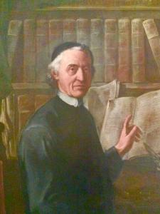 Ritratto di Egidio Forcellini all'età di 63 anni (1751).